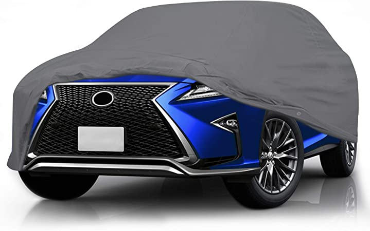 Yellow Special Car Cover for Lexus NX200 2015-2018 All Weather Full Coverage Breathable Windproof Waterproof Dustproof Scratch Resistant UV Protection Outdoor/&Indoor Cover