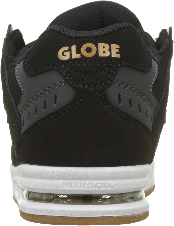 Globe - Sabre - Baskets - Homme-Black Night Red-EU 43/US:10 Multicolore Black Gold 000