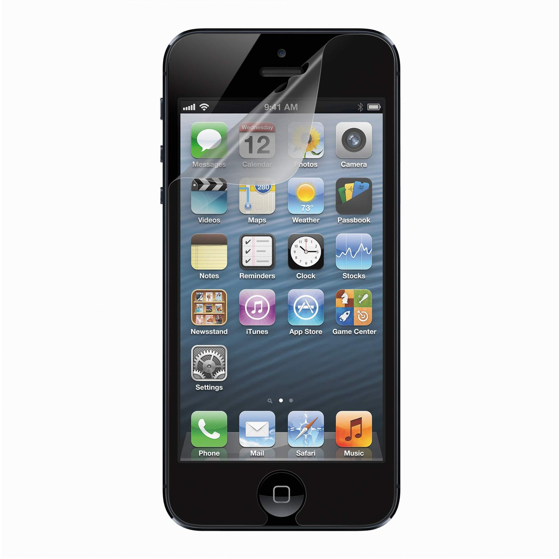 Belkin Transparent Screen Protector for iPhone 5 and 5S (3-Pack) by Belkin (Image #1)