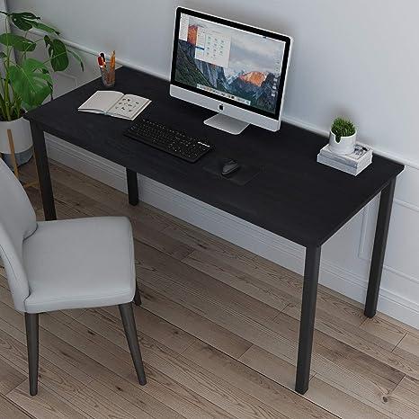 Computertisch Schreibtisch PC-Tisch Arbeitstisch Büro Eckschreibtisch 4 Rollen