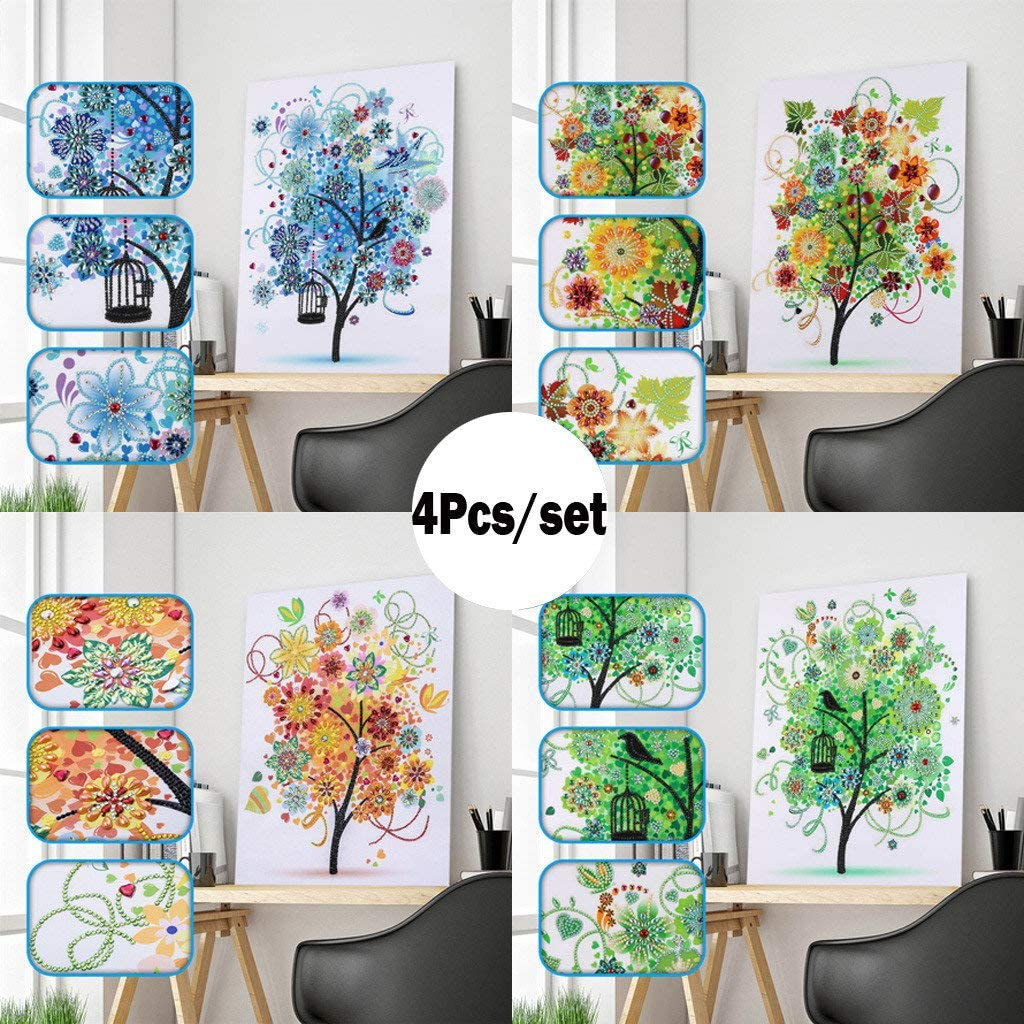 Mandala Crystal Rhinestone Embroidery Paintings Cross Stitch Arts Craft for Home Wall Decor Forart Special Shaped DIY 5D Partial Drill Diamond Painting Kits