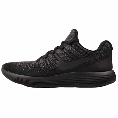 e6f6b4136b15b Nike Womens Lunarepic Low Flyknit 2 Running Shoe Black Black-Dark Grey-Racer  Blue 10.0  Buy Online at Low Prices in India - Amazon.in