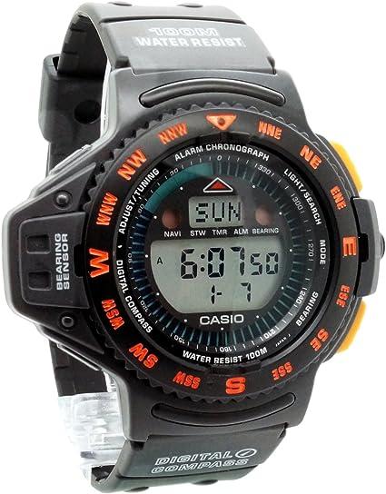 montre digitale homme casio altimetre gps