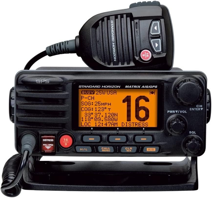 Standard Horizon Matrix Fixed Mount VHF w/AIS & GPS - Class D DSC ...