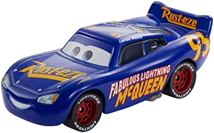 Image Unavailable. Image not available for. Color  Disney Pixar Cars 3  Fabulous Lightning McQueen Die-Cast Vehicle 0e5133d8141