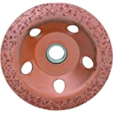 4-1/2 in. 24 Grit Carbide Cup Wheel