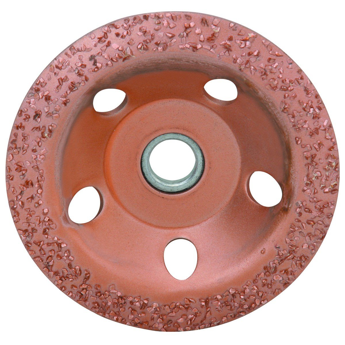 diamondLife 666138 66613 4 1 2 in. 24 Grit Carbide Cup Wheel