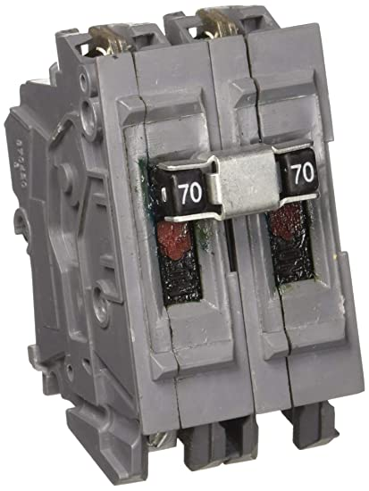 UBIA270NI New Wadsworth Type A Replacement Two Pole 70 Amp Circuit Breaker Manufactured By Connecticut Electric
