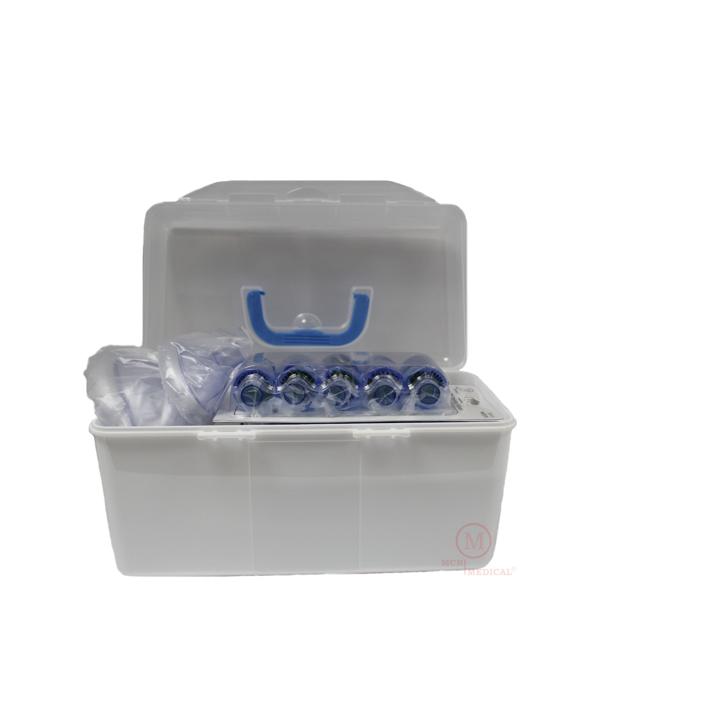 CPR Training Valves with Carry Case (Pack of 50), MCR Medical
