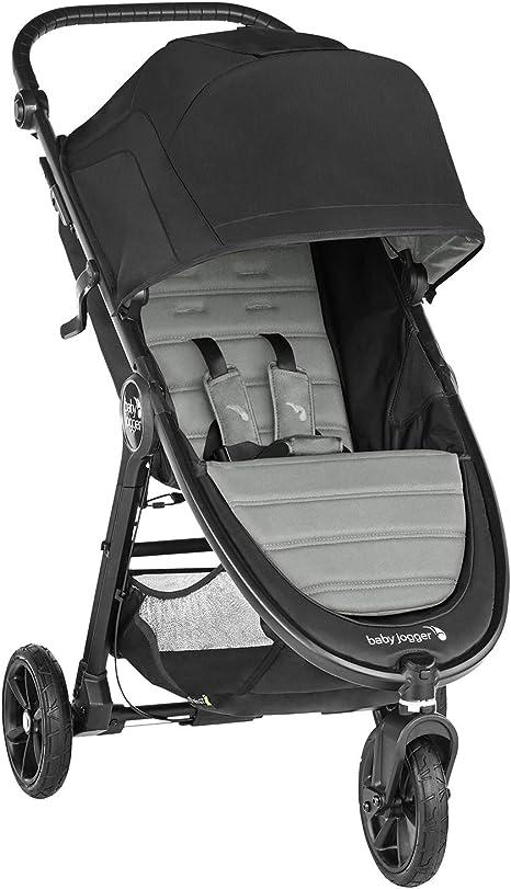 Baby Jogger City Mini GT2 Slate. Cochecito de bebé todo terreno desde naciemiento hasta 22 kg. Color gris