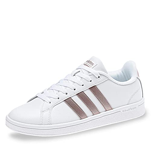 adidas Women's Cf Advantage Fitness Shoes, White (Blanco 000 ...
