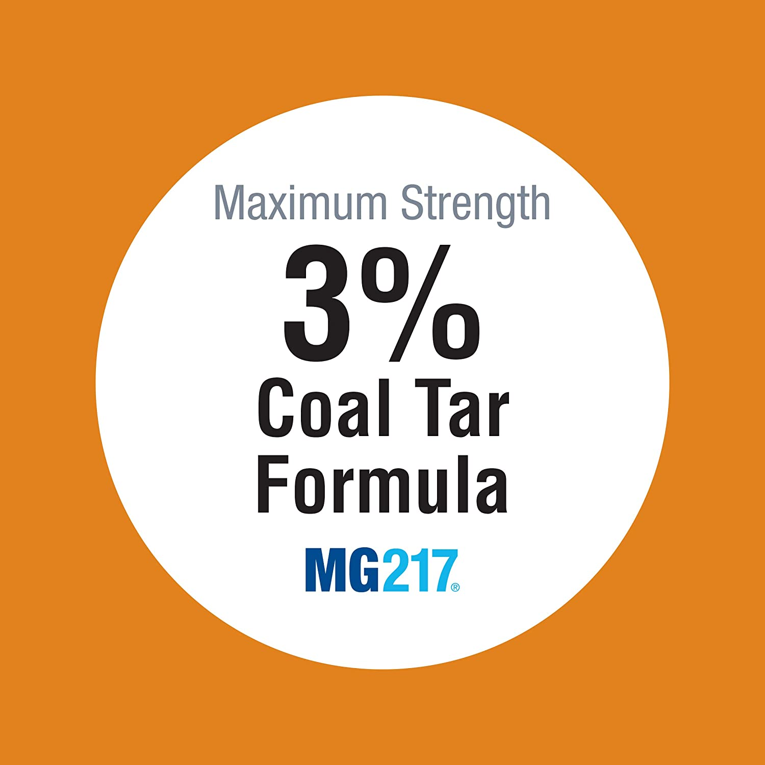 MG217 Psoriasis Medicated Conditioning 3% Coal Tar Shampoo - 8 oz Bottle: Health & Personal Care