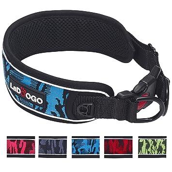 Amazon.com: Ladoogo - Collar para perro resistente ...