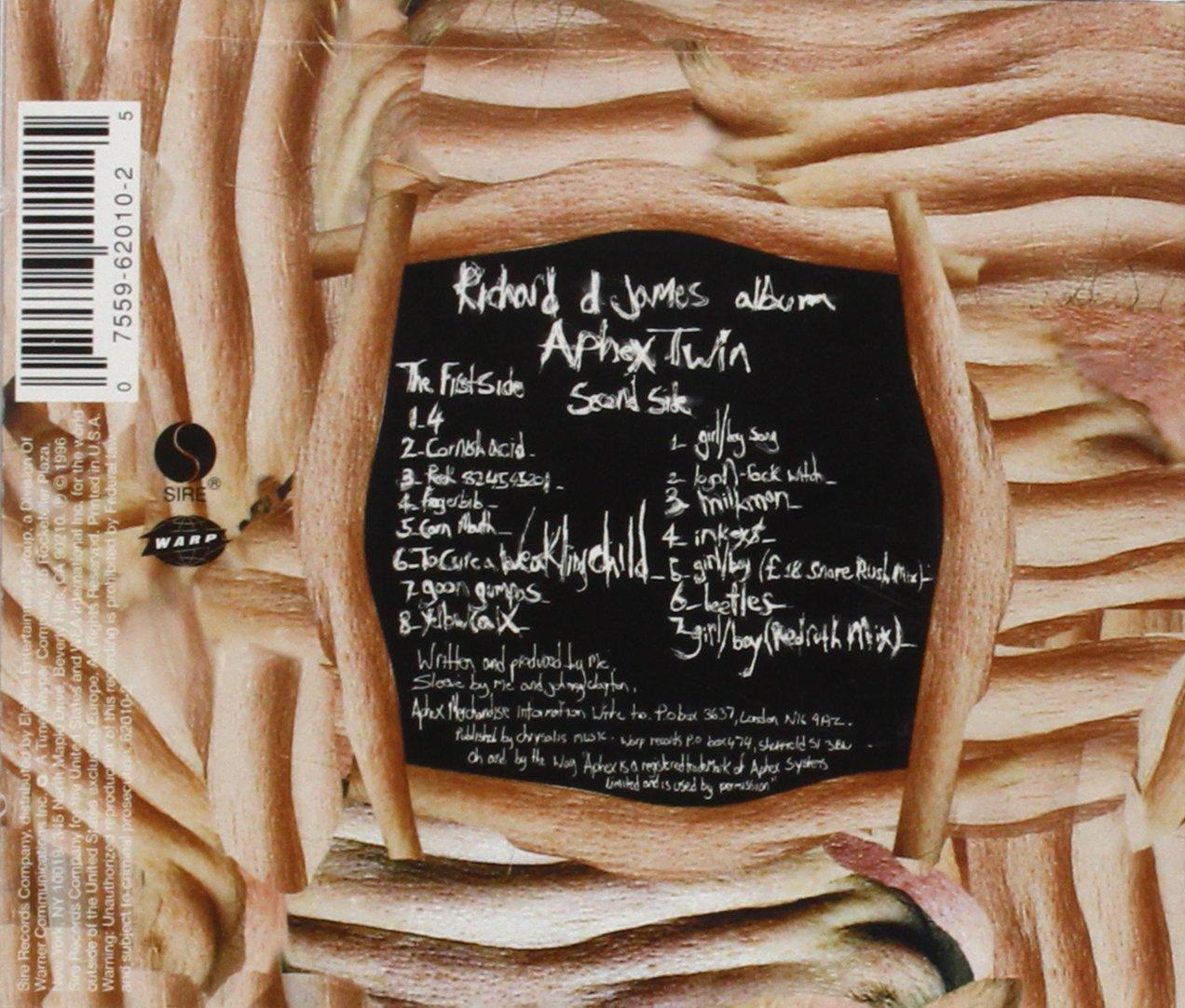 Aphex Twin Richard D James Album Amazoncom Music
