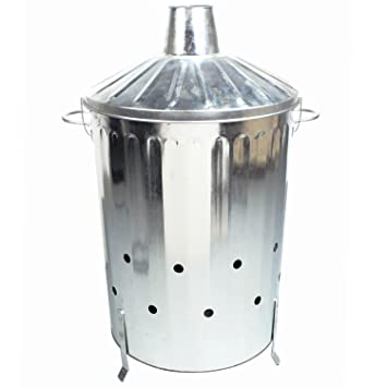 Splendid Crazygadget  Litre L Extra Large Galvanised Metal  With Gorgeous Crazygadget  Litre L Extra Large Galvanised Metal Incinerator Fire  Burning Bin With Special Locking With Breathtaking Garden Pods Buildings Also Kettners Covent Garden In Addition Garden Wood Chips And Wooden Garden Tables As Well As Covent Garden Odeon Additionally La Tahona Gardens Bungalows From Amazoncouk With   Gorgeous Crazygadget  Litre L Extra Large Galvanised Metal  With Breathtaking Crazygadget  Litre L Extra Large Galvanised Metal Incinerator Fire  Burning Bin With Special Locking And Splendid Garden Pods Buildings Also Kettners Covent Garden In Addition Garden Wood Chips From Amazoncouk