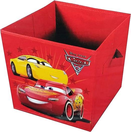 Cars 3 - Caja de Juguetes Plegable: Amazon.es: Juguetes y juegos