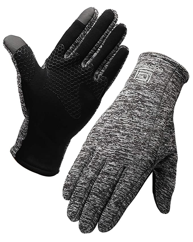 Amazon.com : Letlar Winter Running Gloves, Lightweight Gloves with Touchscreen Fingers Waterproof Gloves Outdoor Sports Cyclying Climbing Skiing Warm Glove ...