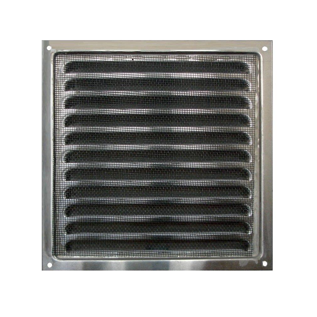 Aluminium grill mit Insekten Net Aluminium Grill mit Insekten Net 30 x 30 cm Air Vent Aluminium Aluminium Air Vent 30 x 30 cm