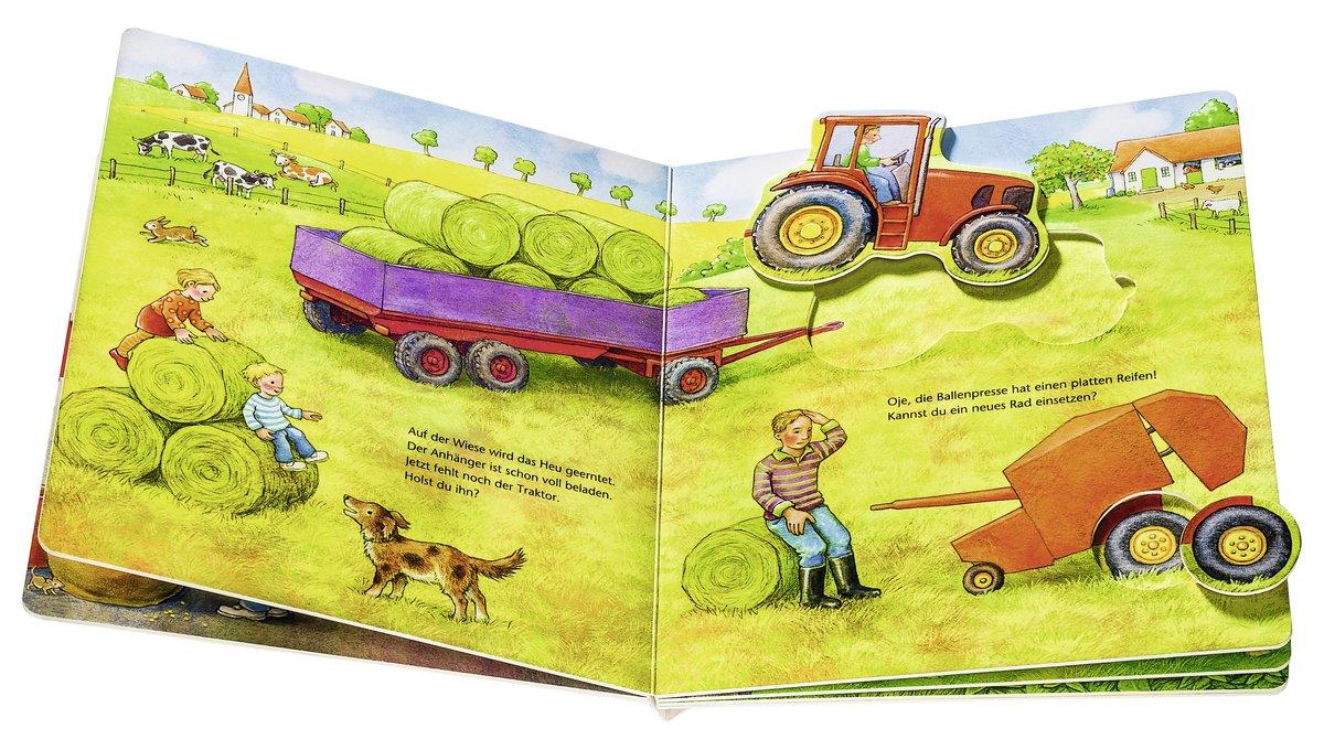 Mein großes Puzzle-Spielbuch Bauernhof: Amazon.de: Anne Möller: Bücher