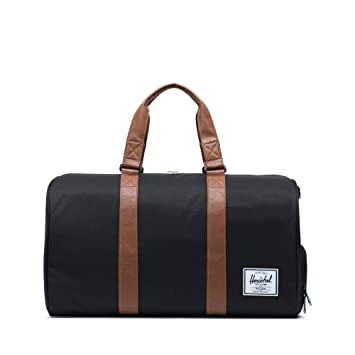 eaa34a990 Amazon.com | Herschel Novel Duffle Bag, Black, One Size | Travel Duffels
