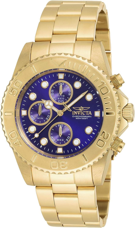 Invicta Men s 19157 Pro Diver Gold-Tone Bracelet Watch