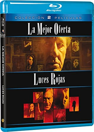 Pack: La Mejor Oferta + Luces Rojas [Blu-ray]: Amazon.es: Geoffrey Rush, Jim Sturgess, Sigourney Weaver, Robert De Niro, Giuseppe Tornatore, Rodrigo Cortés, Geoffrey Rush, Jim Sturgess, Isabella Cocuzza, Rodrigo Cortés: Cine y