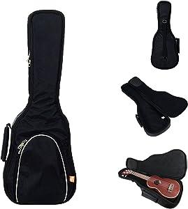Hola! Heavy Duty SOPRANO (up to 21.5 Inch) Ukulele Gig Bag with 15mm Padding