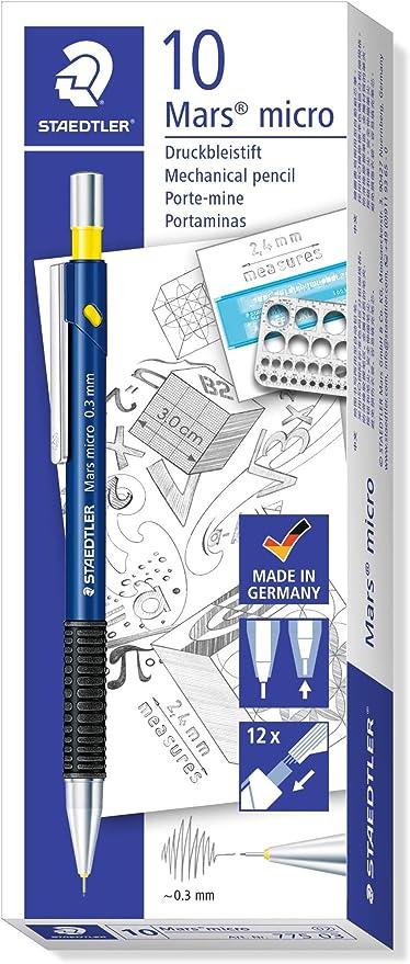 STAEDTLER 775 03 - Pack de 10 portaminas: Amazon.es: Oficina y papelería