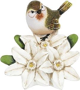 Ganz Spring Decor Bird Flower of The Month 5 inches Figurine (December Narcissus)