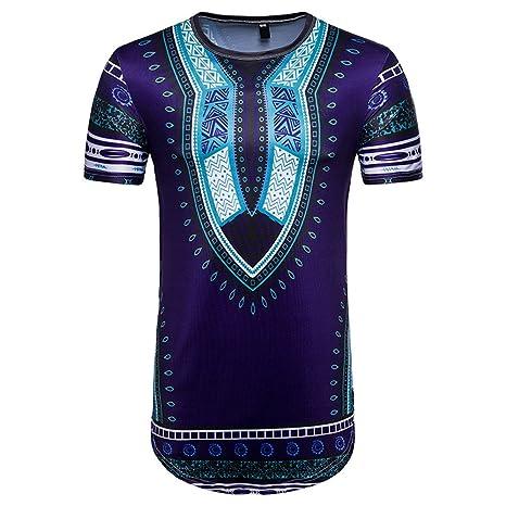 tuduz diseño nuevo hombres de verano Casual africana/Tailandia estilo impresión de la obra O