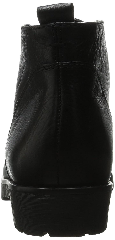 Lauren Ralph Lauren Women's Malva Boot B00WIWC7JA 5.5 B(M) US|Black Veg Tumbled Pull Up