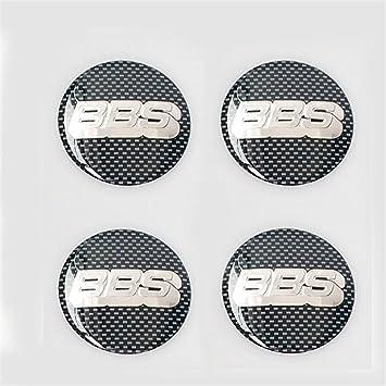 vigoss 4 pegatinas 3D para el centro de la rueda del coche, para parachoques de