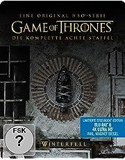 Game of Thrones - Staffel 8 (Limitiertes 4K Ultra HD Steelbook) [Blu-ray]