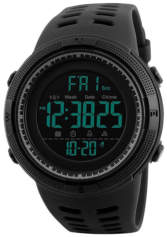メンズ多機能スポーツArmyアウトドア50 M防水デジタル腕時計Militaryカジュアル腕時計 B075FQ979N