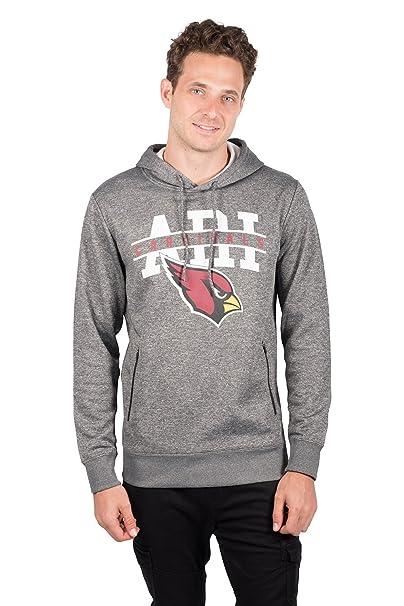 buy popular 69677 2ff5d NFL Ultra Game Men's Fleece Hoodie Pullover Sweatshirt Zipper Pocket