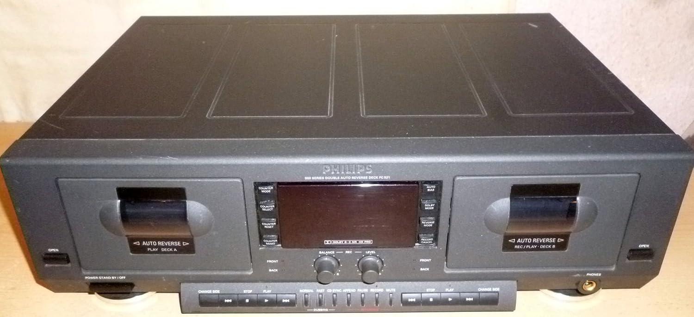 Philips FC 931 doble pletina Tape Deck: Amazon.es: Electrónica