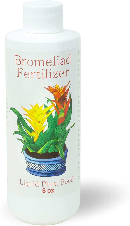 Bromeliad Fertilizer Liquid Plant Food for Bromeliads | Cryptanthus, Guzmania, Neoregelia Aechmea and Tillandsia Air, Aquatic Arts