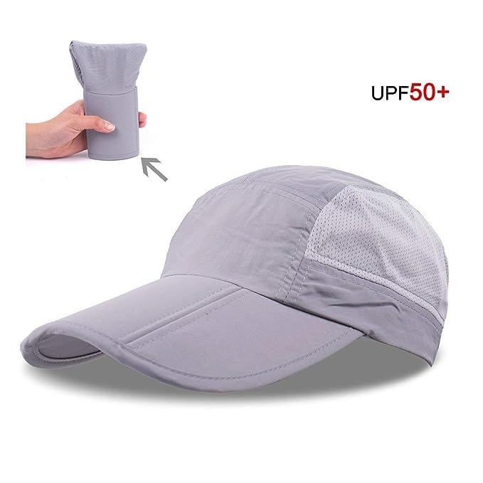 Gorra De Béisbol Ultralight 63G Para Mujer Para Hombre Tamaños Cómodos Gorra De Béisbol Plegable Gorra