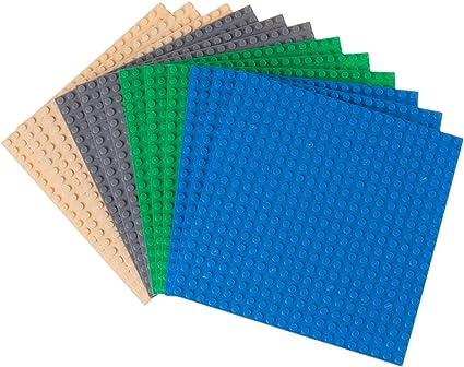 Standard Plate Brick Bricks ~ Lego ~ NEW 1x10 Dark Azur 4 Blue
