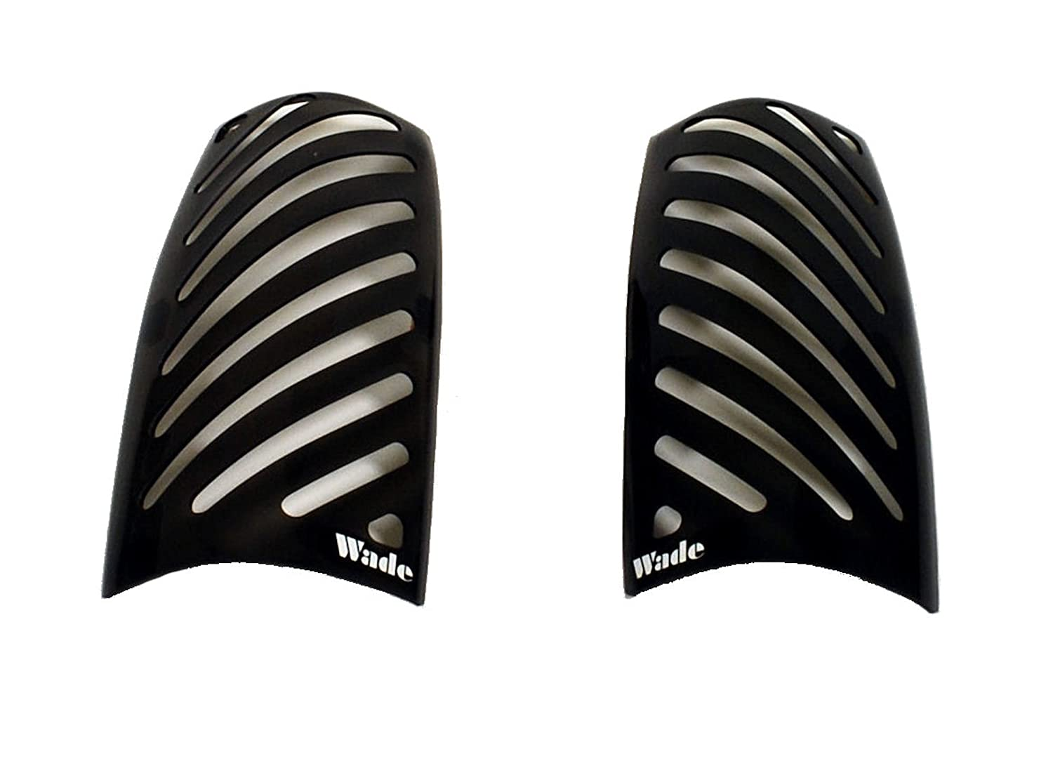 Pair Westin Wade 72-31894 Smoke Tint Slotted Design Tail Light Cover