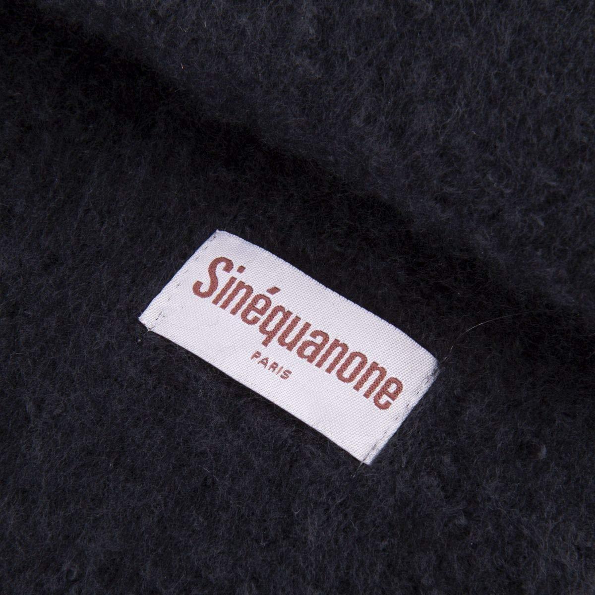 51dc4c28300 Sinéquanone Écharpe 50X190 cm Satyana Femme NOIR - 190  Amazon.fr   Vêtements et accessoires