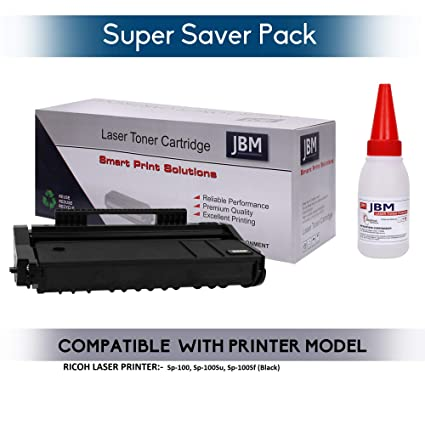 JBM Easy Refill RICOH sp-100 for Ricoh Compatible Laser