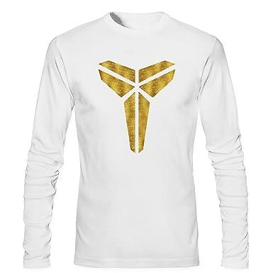 23f4caef3ec Yrewer Men s Kobe Bryant Los Angeles Lakers The Black Mamba Logo MVP Player  24 T Shirt