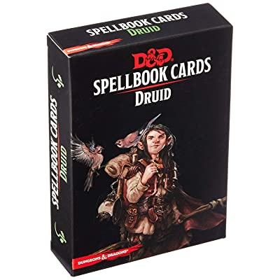 Dungeons & Dragons - Spellbook Cards: Druid (131 cards): Toys & Games