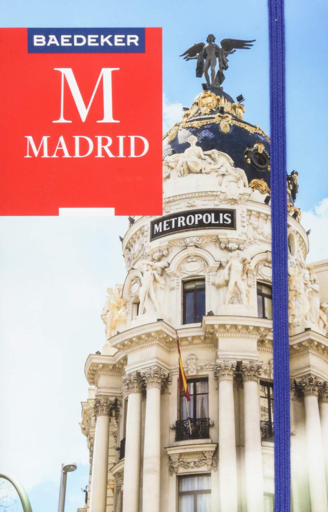 Baedeker Reisefuhrer Madrid Mit Praktischer Karte Easy Zip Iris
