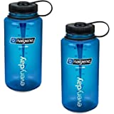 Nalgene 32oz Wide Mouth Everyday Water Bottle - 2 Pack