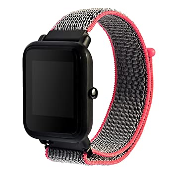 Correa de repuesto elegante para reloj Xiaomi Huami Amazfit Bip de Y56, de nailon,