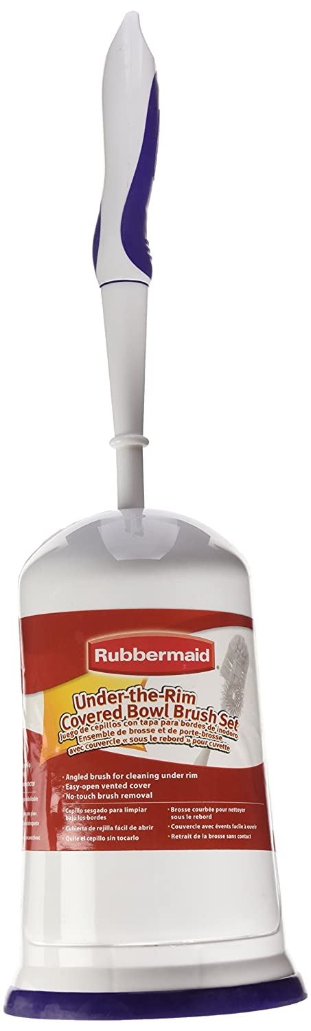 Amazon.com: Rubbermaid Toilet Bowl Brush with Caddy Holder, with ...