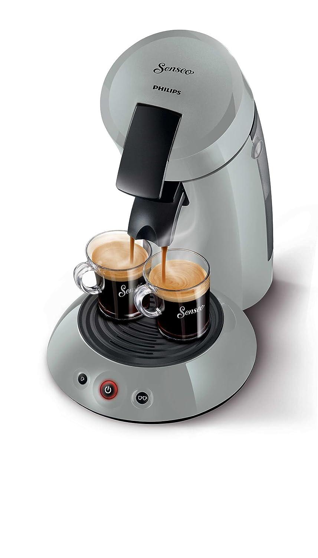 Senseo Original HD7804/70 - Cafetera (Independiente, Máquina de café en cápsulas, 0,7 L, Dosis de café, 1450 W, Gris, Plata): Amazon.es: Hogar