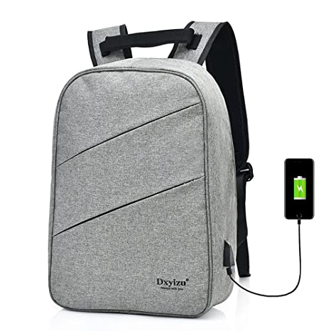 498bb82ff22b Image Unavailable. Image not available for. Color  Outdoor Backpack Smart  USB Charging ...